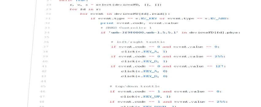 Gamepad2Keyboard Mapper for Dosbox on the Raspberry Pi – www haegi org